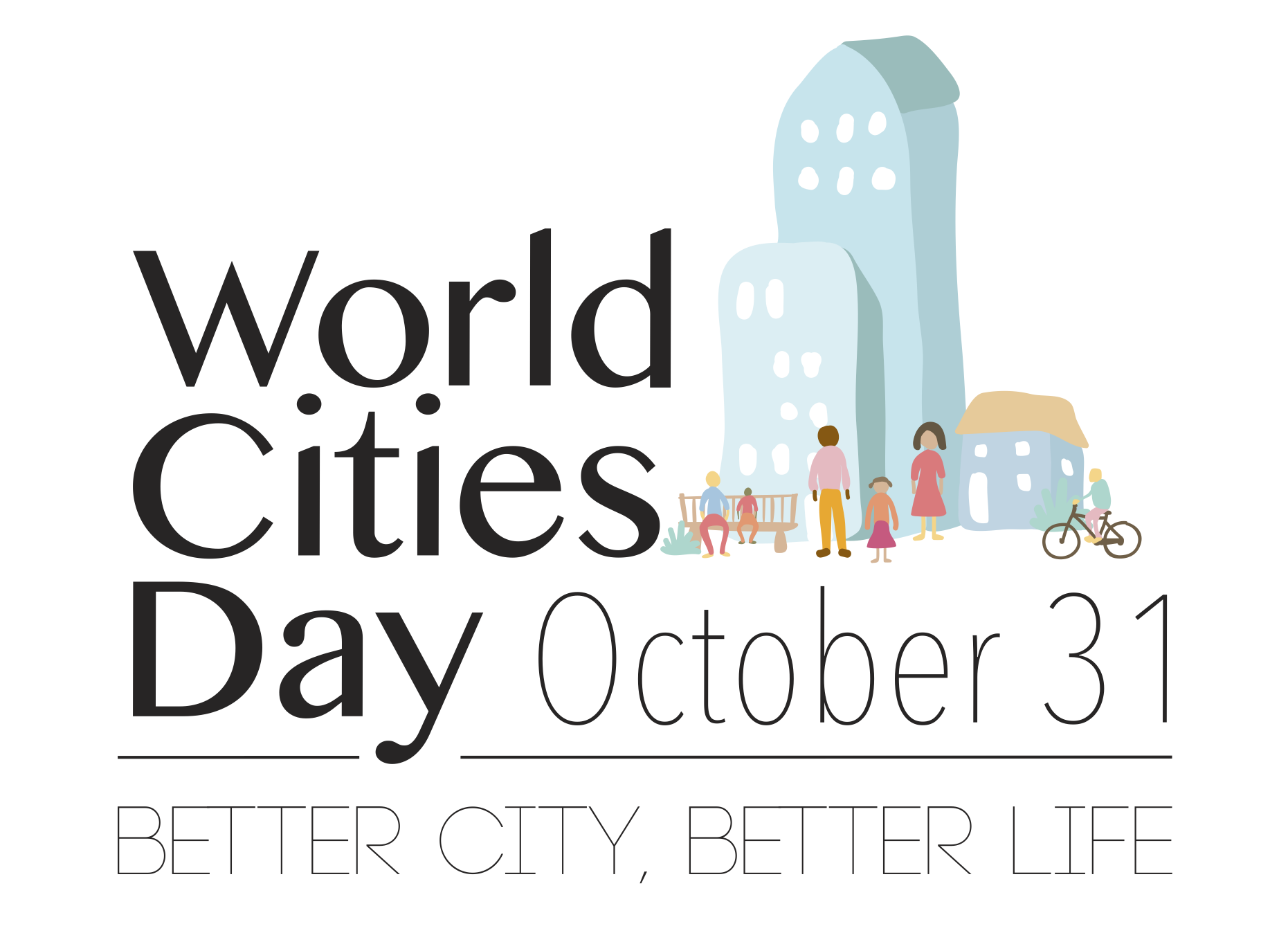World Cities Day logo
