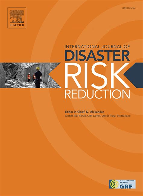 Journal of Disaster Risk Reduction page
