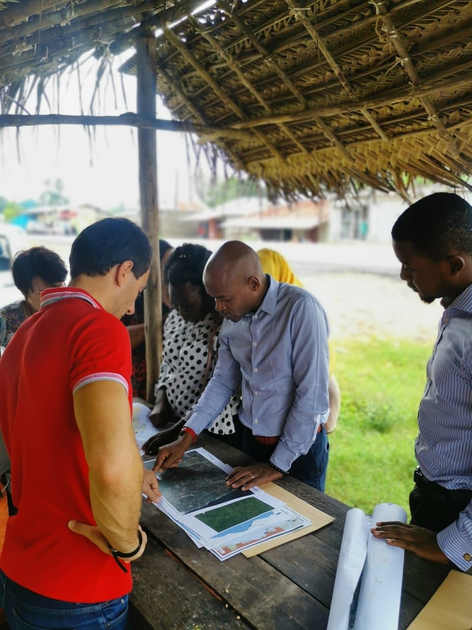 The first Planners for Climate Action Studio in Zanzibar