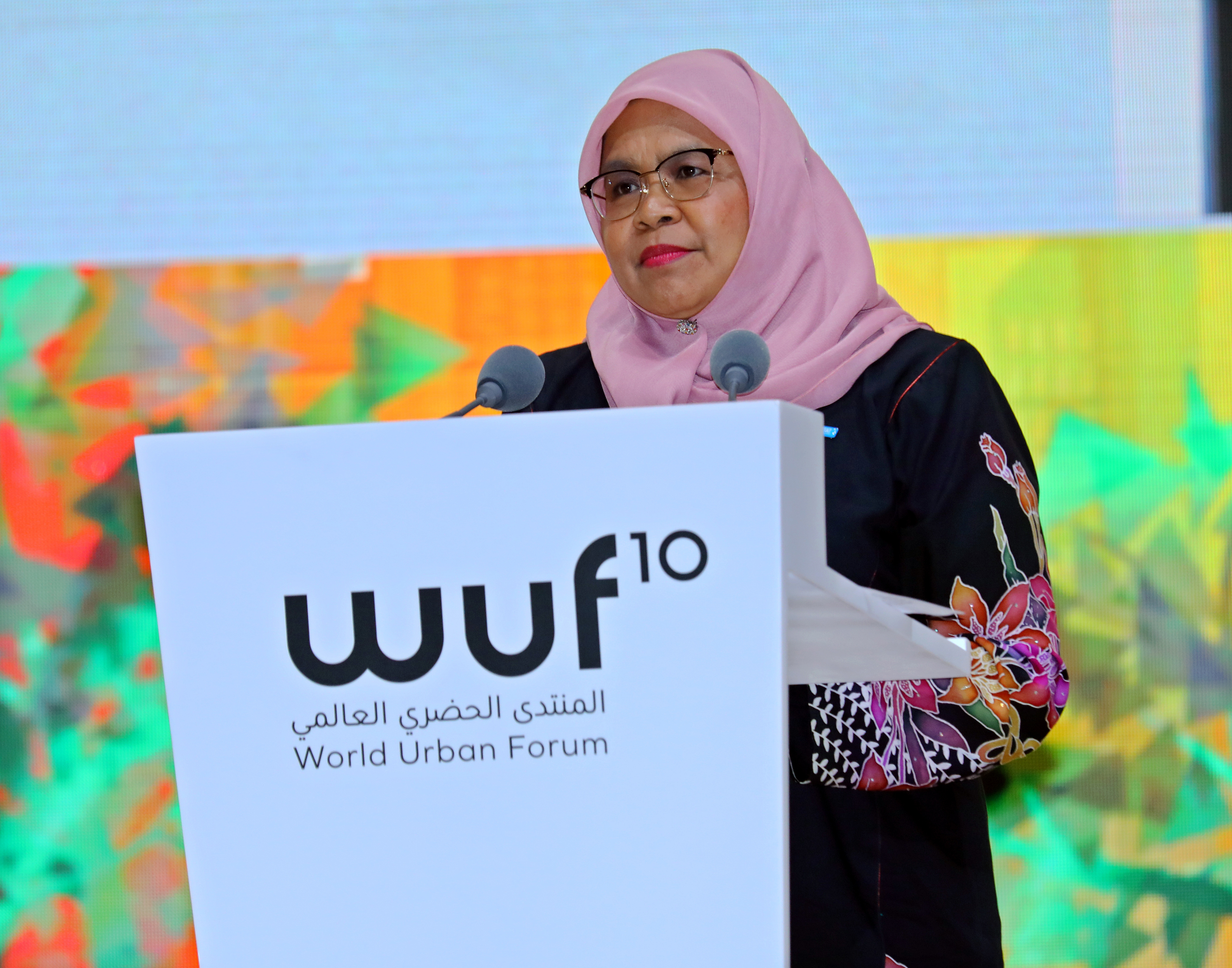 UN-Habitat Executive Director, Maimunah Mohd Sharif declares WUF10 officially closed
