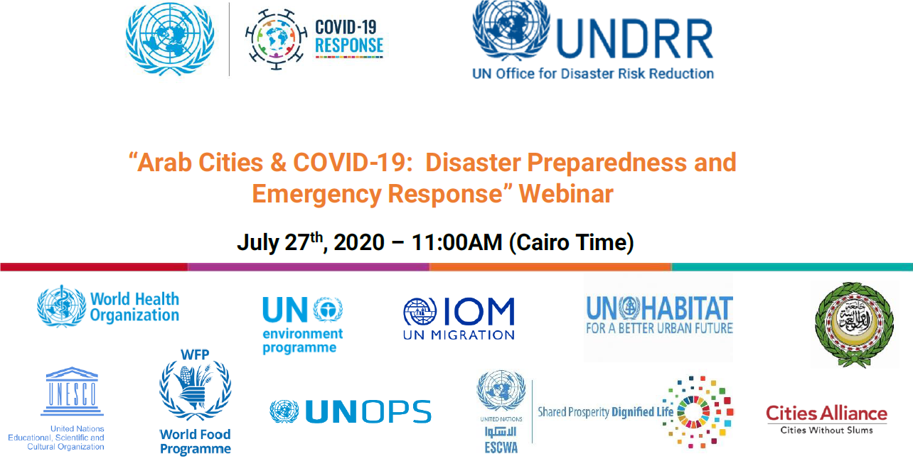 Arab cities share experiences on disaster preparedness and emergency response during COVID-19