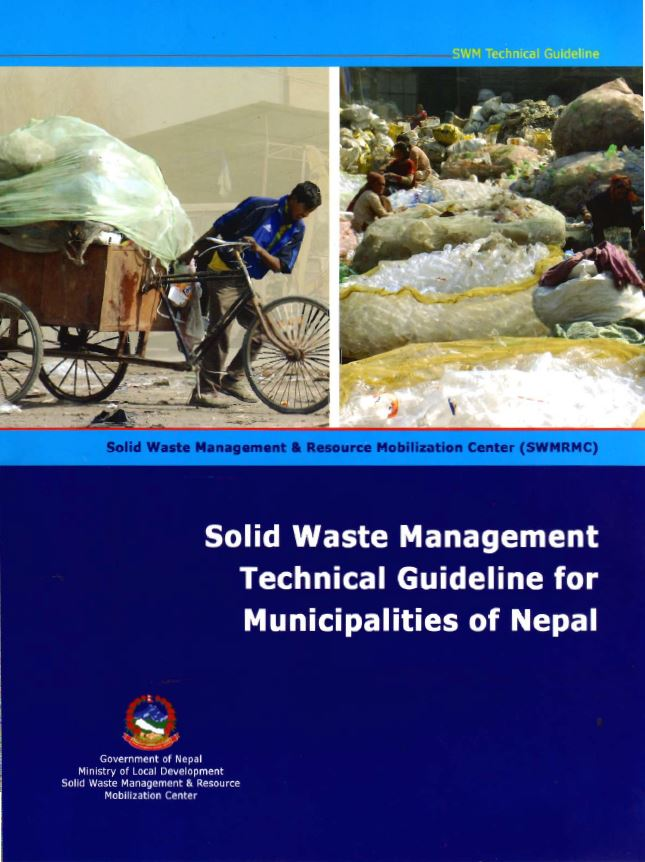 UN-Habitat (2008): Solid Waste Management Technical Guideline For Municipalities Of Nepal