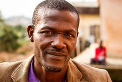 Mr Simon-Pierre Etoga, 52, Founder, Tam Tam Mobile, local waste collection enterprise, Yaounde, Cameroon