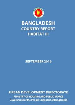 Bangladesh Habitat III Country Report Cover-image