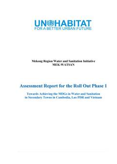 Mekong Region Water and Sanitation Initiative Assessment Report for the Roll Out Phase 1 Cover-image