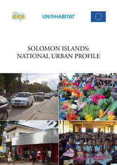 Solomon Islands National Urban Profile - Cover Image