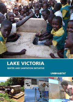 Lake Victoria water and sanitation brochure - Cover image