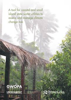 A Tool for Coastal and Small Island State Water Utilities to Assess and Manage Climate Change Risk - Cover image