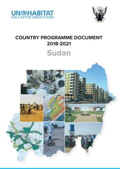 Country Programme Document 2018-2021 Sudan - Cover image