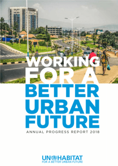 Annual Progress Report 2018 cover image