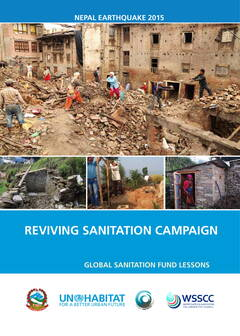 Reviving Sanitation Campaign-Nepal earthquake 2015 - Cover image