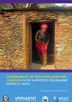 Sustainability of Open Defecation Free campaign in GSF supported Programme Districts, Nepal - Cover image