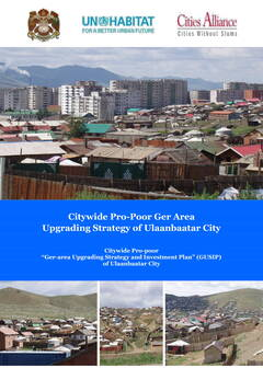 Citywide Pro-Poor Ger Area Upgrading Strategy of Ulaanbaatar City - Cover image