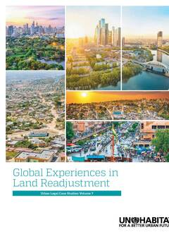 Global Experiences in Land Readjustment Urban Legal Case Studies Volume 7-Cover image
