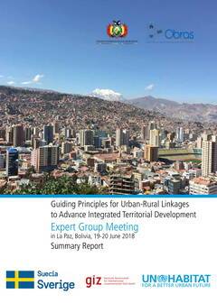 Guiding Principles for Urban-Rural Linkages to Advance Integrated Territorial Development - Cover image