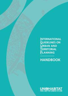 International Guidelines on Urban and Territorial Planning – Handbook - Cover image