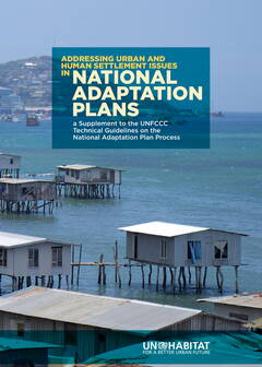 Addressing Urban and Human Settlement Issues in National Adaptation Plans - Cover image