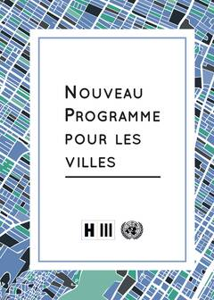 New Urban Agenda - French - Cover image
