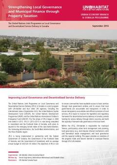 Strengthening Local Governance and Municipal Finance through Property Taxation-Cover image