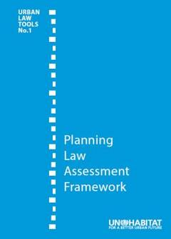 Planning Law Assesment Framework-Cover image