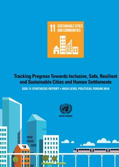 SDG 11 Synthesis Report cover image
