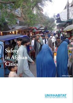Safety in Afghan Cities-Cover image