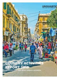 COUNTRY ACTIVITIES REPORT 2019 cover image