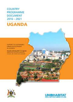 UN-Habitat Country Programme Document 2016 – 2021 – Uganda - Cover image