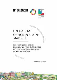 UN-Habitat Office in Spain-Madrid, Briefing - Cover image