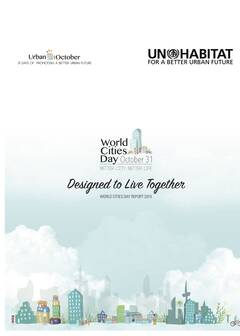 World Cities Day Report 2015 - Cover image