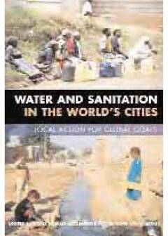 Water and Sanitation in the World's cities: Local action for global goals - Cover image