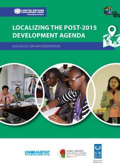 Dialogues on localizing the post-2015 development agenda-Cover image