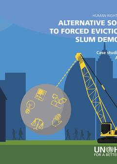Alternative solutions to Forced Evictions and slum demolitions - Cover image
