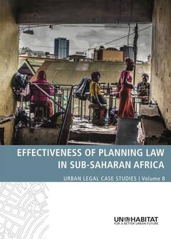 Effectiveness of Planning Law in Sub-Saharan Africa - Cover image