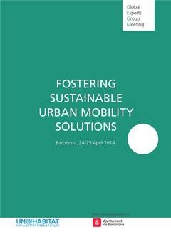 Fostering sustainable Urban Mobility Solutions - Cover image