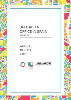 UN-Habitat Office in Spain Report 2017 - Cover image