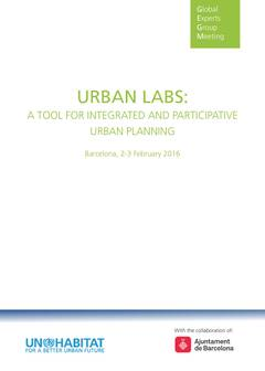 Urban Labs: A Tool for Integrated and Participative Urban Planning - Cover image