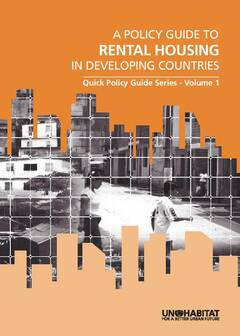 Policy Guide to Rental Housing in Developing Countries - Cover image