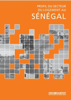 Senegal Urban Housing Sector Profile - Cover image