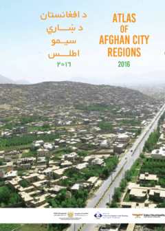 Atlas of Afghan City Regions 2016 - Cover image