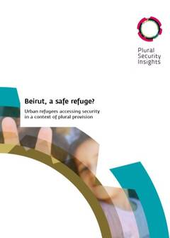 Beirut, a safe refugee? - Cover image