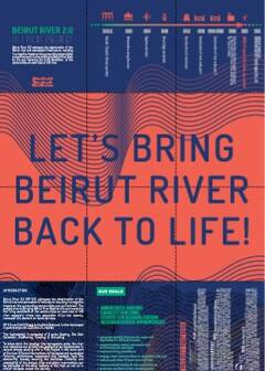 Lets bring beirut river back to life - Cover image
