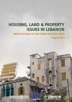 Housing, Land, and property issues in Lebanon - Cover image
