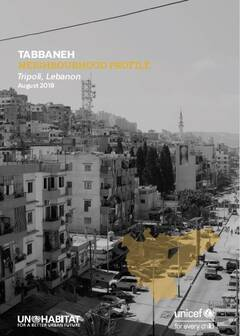 Tabbaneh Neighbourhood Profile - Cover image