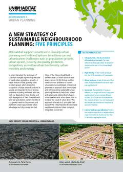 Five principles of Neighbourhood Design