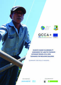 Climate Change Vulnerability Assessment of Labutta Township, Ayeyarwady Region, 2016 – 2050: Scenarios for Resilience Building (Summary for Policy Makers)