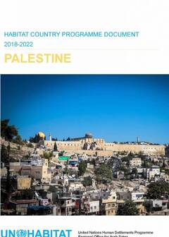 Country Programme Document 2018-2022 for Palestine Launched to Celebrate World Habitat Day