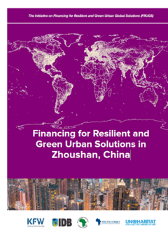 Financing for Resilient and Green Urban Solutions in Zhoushan, China - Cover
