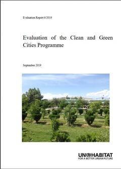 Evaluation of the Clean and Green Cities Programme (6/2019) - Cover
