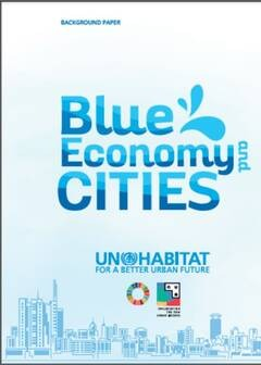 UN-Habitat background paper on Blue Economy and Cities - Cover